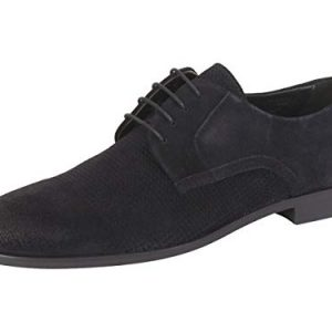 Hugo Boss BOSS Smart Suede Derby by Hugo Navy
