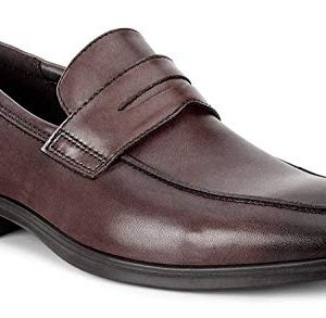 ECCO Men's Melbourne Loafer, Cocoa Brown