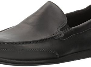 Rockport Men's Bennett Lane 4 Venetian Shoe, black leather