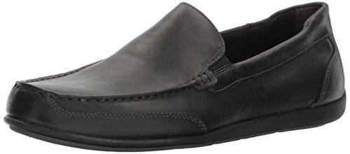 Rockport Men's Bennett Lane 4 Venetian Shoe, black leather