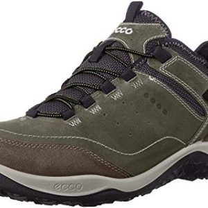 ECCO Men's Esphino GORE-TEX waterproof Hiking shoe, Tarmac/Tarmac