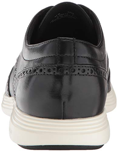 Cole Haan Men's Grand Crosscourt II Sneaker, Black Classic wingtip sample on a sport impressed outsole with wealthy leather-based or suede uppers Textile coated foot mattress for consolation and breathability Rubber pods within the heel and forefoot for traction Lightweight EVA midsole cushioned with Grand OS for final consolation and adaptability Classic wingtip sample on a sport impressed outsole with wealthy leather-based or suede uppers. Textile coated foot mattress for consolation and breathability. Rubber pods within the heel and forefoot for traction. Lightweight eva midsole cushioned with grand OS for final consolation and adaptability.