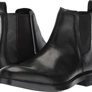 Cole Haan Men's Kennedy Grand Chelsea Waterproof Boot, Black wp