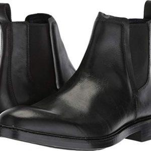 Cole Haan Men's Kennedy Grand Chelsea Waterproof Boot, Black wp