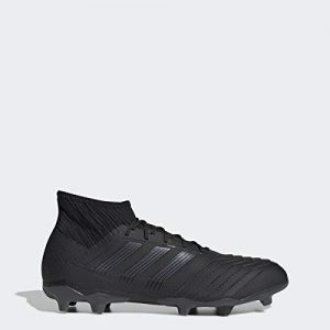 adidas Men's Predator 19.2 Firm Ground Soccer Shoe, Utility Black