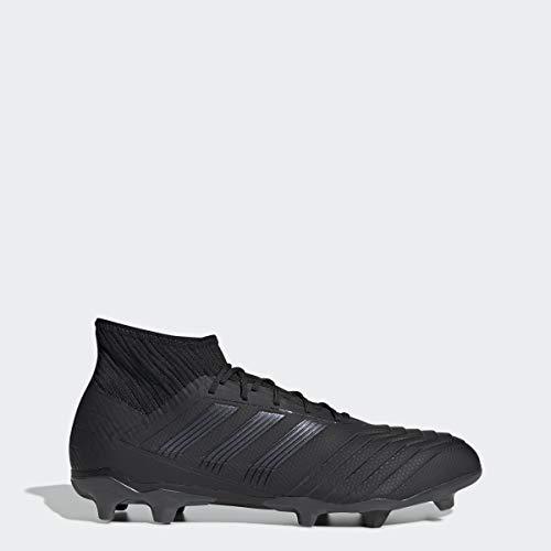 adidas Men's Predator 19.2 Firm Ground Soccer Shoe, Utility Black