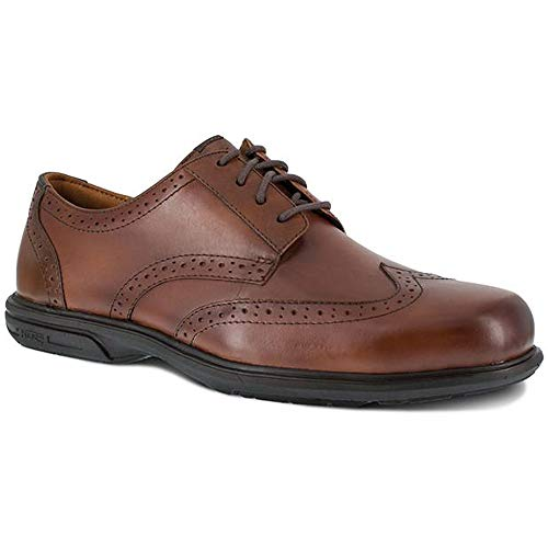Florsheim Men's Loedin Dress Wing Tip Steel Toe Work Shoe