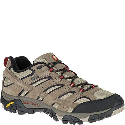 Merrell Men's Moab 2 Waterproof Hiking Shoe, Bark Brown