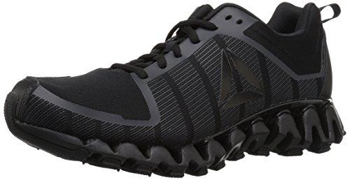 Reebok Men's ZigWild Tr 5.0 Running Shoe, Black/Coal/ash Grey