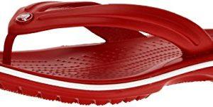 Crocs Crocband Flip Flop, Pepper/White