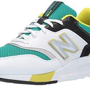 New Balance Men's 997H V1 Sneaker, VERDITE/White