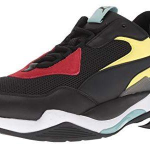PUMA Men's Thunder Spectra Sneaker, Black Black White