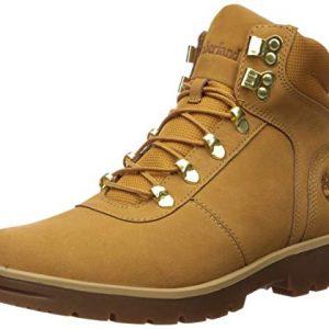 Timberland Men's Newtonbrook Mid Hiker Boot, Wheat Nubuck