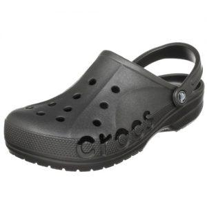 Crocs Mens and Womens Baya Clog, Graphite