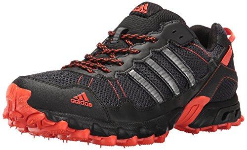 adidas Men's Rockadia Trail M Running Shoe, Black/Black/Energy