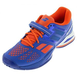 Babolat Men's Propulse All Court Tennis Shoes (Blue/Red)