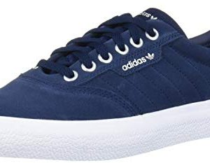 adidas Originals 3MC Sneaker, Collegiate Navy/White/Silver Metallic