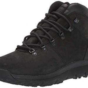 Timberland Men's World Hiker Mid Boot Boot, Blackout Nubuck