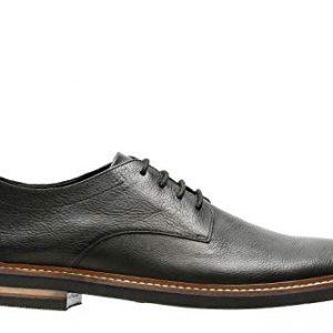 Bostonian Men's Dezmin Plain, Black Leather, 13 Medium,Black Leather