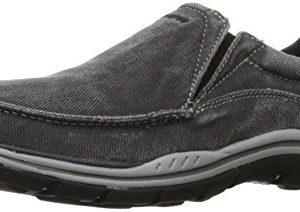 Skechers Men's Expected Avillo Relaxed-Fit Slip-On Loafer,Black,8.5 EW US