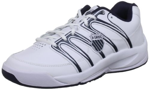 K-Swiss Tennis and Racquet Sports, White/Navy