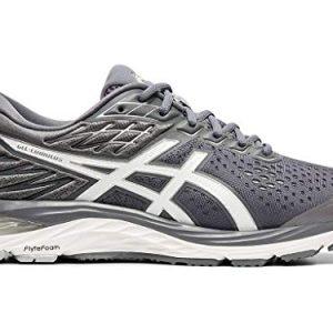 ASICS Men's Gel-Cumulus 21 Running Shoes, Metropolis/White