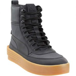 Puma Men's Xo Parallel Tactical Black/High-Top Nylon Fashion Sneaker