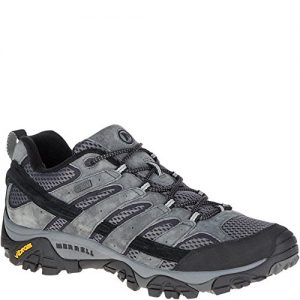 Merrell Men's Moab 2 Waterproof Hiking Shoe, Granite