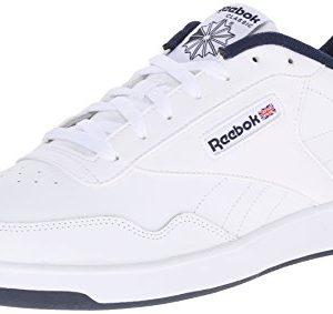 Reebok Men's Club Memt Fashion Sneaker, White/Collegiate Navy