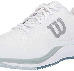 Wilson RUSH PRO 3.0 Tennis Shoes, White/Pearl Blue/Bluestone