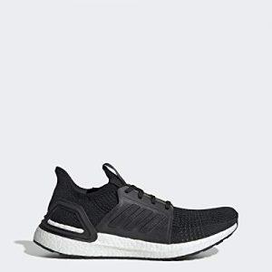 adidas Men's Ultraboost 19 Running Shoe, Black/Black/White