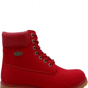 Lugz Men's Convoy Fashion Boot, Mars Red/Gum
