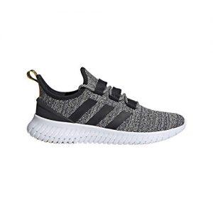 adidas Men's Kaptur Sneaker, Grey/Black/raw White