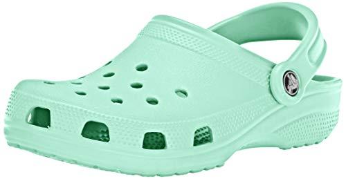 Crocs Classic Clog|Comfortable Slip On Casual Water Shoe, New Mint