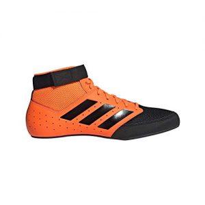 adidas Mat Hog 2.0 Orange/Black Wrestling Shoes