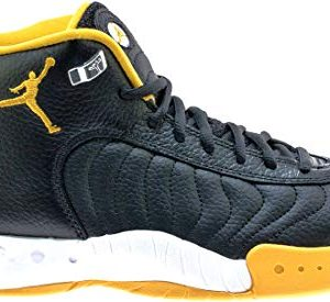 Nike Men's Jordan Jumpman Pro Black/University Gold/White Leather Basketball