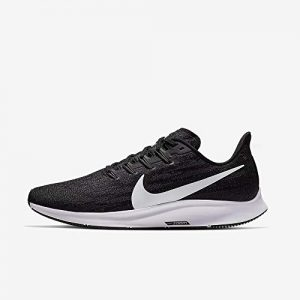 Nike Men's Air Zoom Pegasus 36 Running Shoe Black/White/Thunder Grey