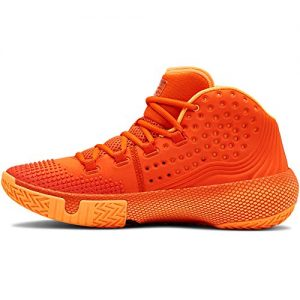 Under Armour Men's HOVR Havoc 2 Basketball Shoe, Team Orange
