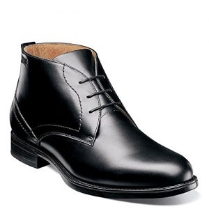 Florsheim Midtown Waterproof Chukka Boot Black Smooth