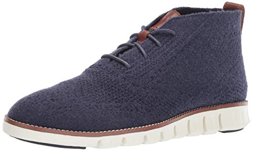 Cole Haan Men's Zerogrand Stitchlite Chukka Boot, Marine Blue Wool