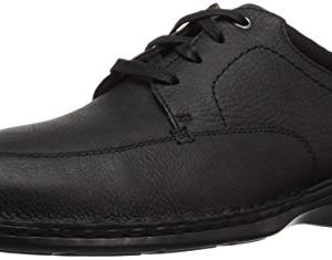 Clarks Men's Northam Pace Oxford, Black Oily Leather