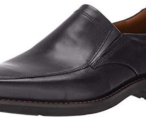 ECCO Men's Seattle Slip On Loafer, Black/Black, 44 Medium EU