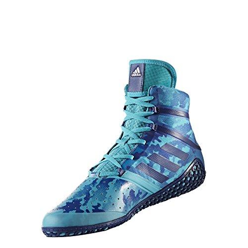 adidas Impact Men's Wrestling Shoes, Turqouise Camo Print