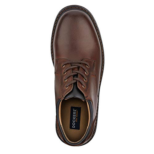 Dockers Mens Shelter Leather Rugged Casual Oxford Shoe Genuine leather-based uppers Treated with Stain Defender, which immediately repels spills and stains from the waterproof leather-based Padded tongue and achilles heel collar for additional cushion Cushioned latex footbed for distinctive consolation Durable rubber outsole Dockers standard, traditional informal lace-up footwear with a number of consolation options. These oxfords will turn out to be your go-to weekend footwear to put on with informal slacks, denims and khakis.