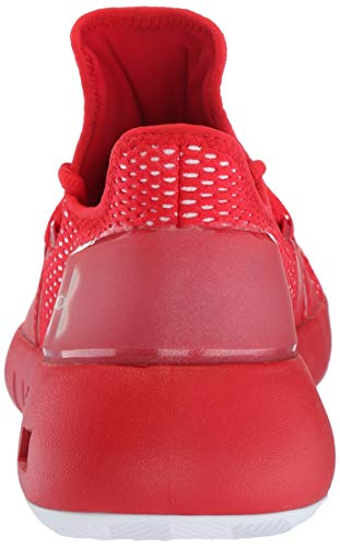 Under Armour Men's Drive 5 Low Basketball Shoe Under Armour Men's Drive 5 Low Basketball Shoe, Red (600)/White, 11.