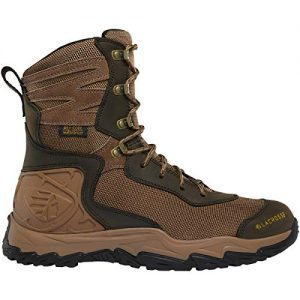 "Lacrosse Men's Windrose 8"" Waterproof Hunting Boot, Brown"