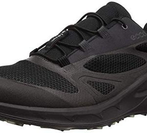 ECCO Men's Biom OmniQuest Gore-Tex Hiking Shoe, Black