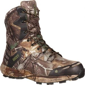 Rocky Men's Mid Calf Boot, Realtree Xtra Camouflage