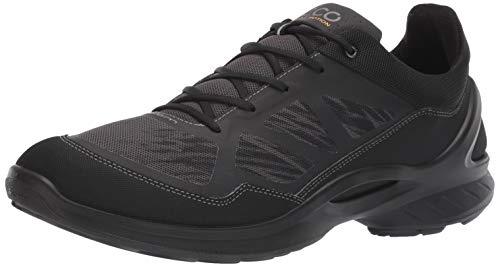 ECCO Men's Biom Fjuel Racer Walking Shoe, Black/Dark Shadow