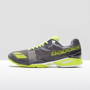Babolat Men's Jet All Court Tennis Shoes (Grey/Yellow)